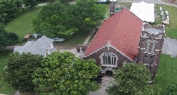 #St_Patrrick_Church_Aerial_View