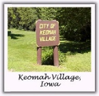 City of Keomah Village sign.jpg