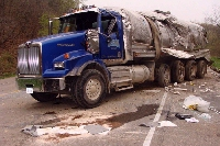 #Milk_Truck_Accident